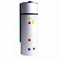 Bomba de Calor AQS em INOX  W10 - 200Lts - 1 Serpentina - Wertec