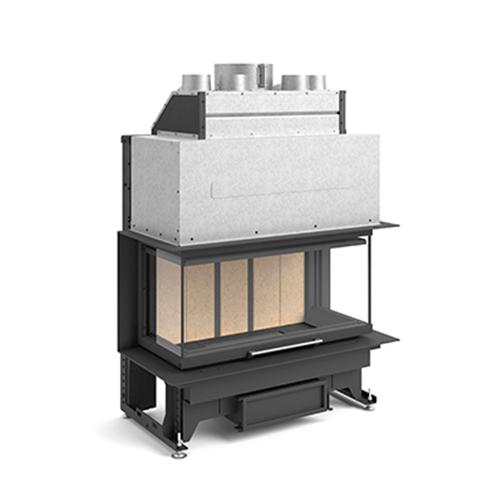 Recuperador de Calor a Lenha G 450 TC (Porta Guilhotina) - Rocal