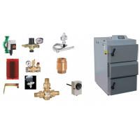 Caldeira a lenha de Chama Invertida vigas aquecimento + apoio AQS + Kit de Instalação;